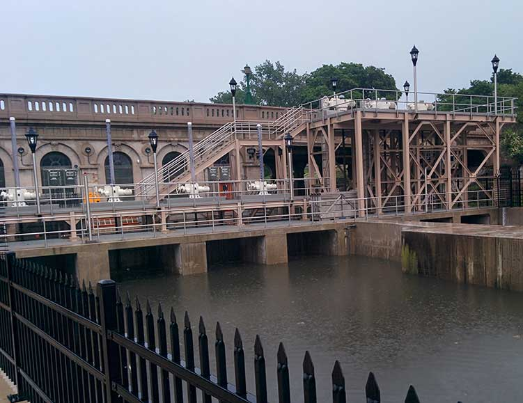 Wilmette Locks and Pumping Station, June 15, 2015.